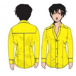 Camisa Especial Escote...